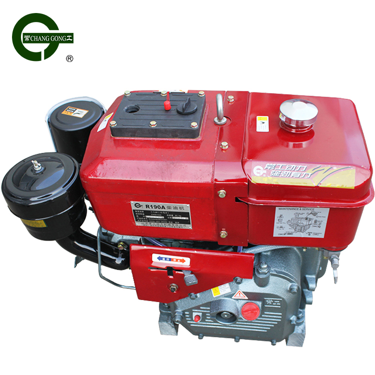 R190A diesel engine 2 stroke cycle