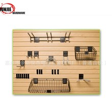 Metal rack Slatwall Display Brackets Garage Storage Basket