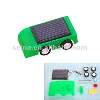 Mini Solar Car Kits, Diy solar energy racing car