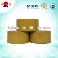 colored sealing golden packing tape