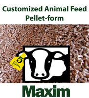 Customized Animal Feed - Pellet form