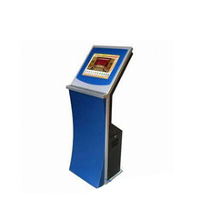 High quality standalone metal case interactive touch screen karaoke machine kiosk