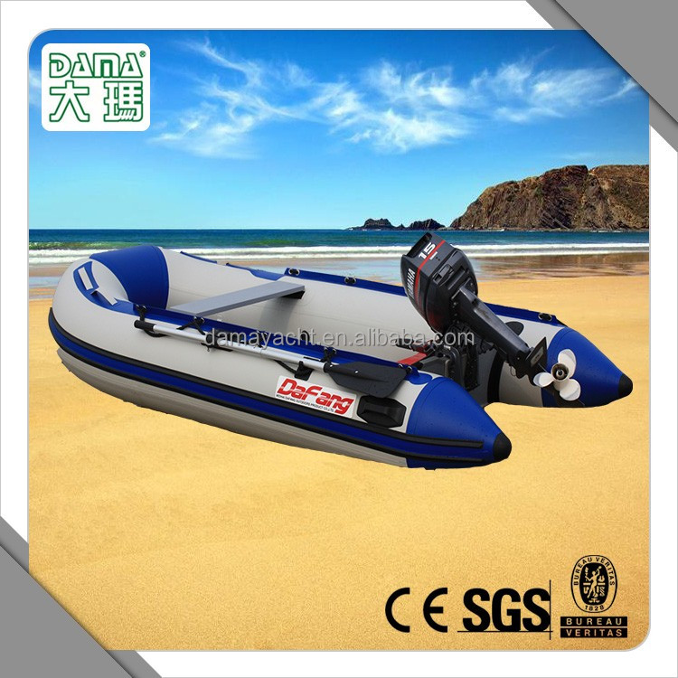 High quality rowing boat with motor