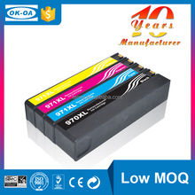 Wholesales remanufactured ink cartridge for HP 970 & 971