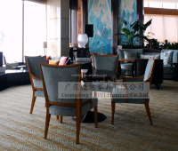 China factory wooden hotel lobby round table furniture