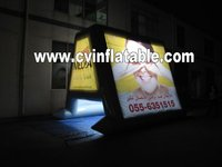 inflatable floating display billboard/inflatable advertising /water billboard