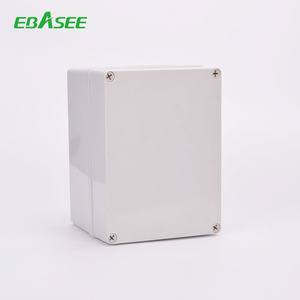 IP65 Plastic watertight 252x152x100mm electrical enclosure junction box outdoor distribution box