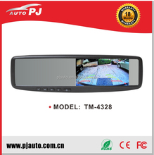 "4.3"" Clip-on Car Backup Mirror Monitor, Rear View Universal Reversing / Reverse / Parking Rearview Assistant (TM-4328A)"
