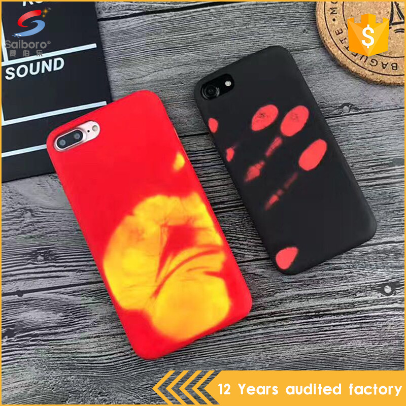 Factory direct supply color changing thermal mobile phone cases for iphone 6s 6 plus7 7plus case,for iphone6 case