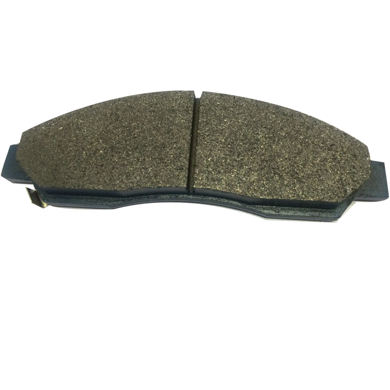 Semi-metallic brake pad a-50k brake pad with shock absorber made in China