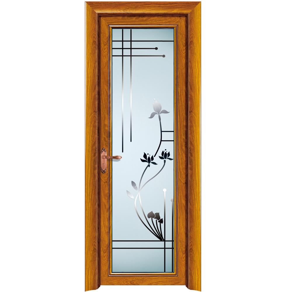 . Hs jy9006 Burglar Water Proof Aluminium Bathroom Door Customized Design    Buy Burglar Proof Aluminium Bathroom Door Customized Design Moulded Door