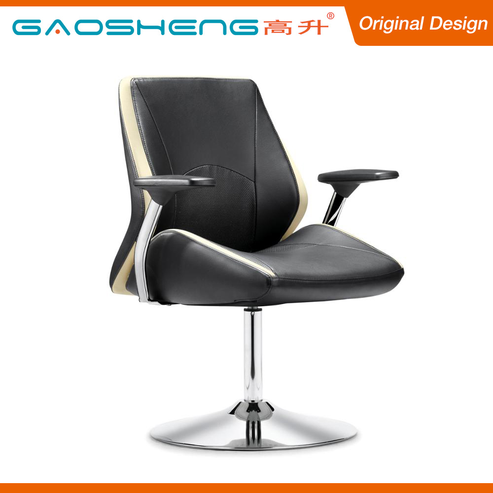 Reasonable Price Comfortable Black Leather Barber Salon Chair