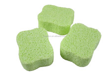 High Quality Special Pattern Flower Type PVA Sea Sponge used for bath