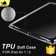 Unbreakable Protector Clear Case For Ipad Air 2, For Back Shockproof Ipad Air 2 Cover, For Tpu Transparent Ipad Air Case