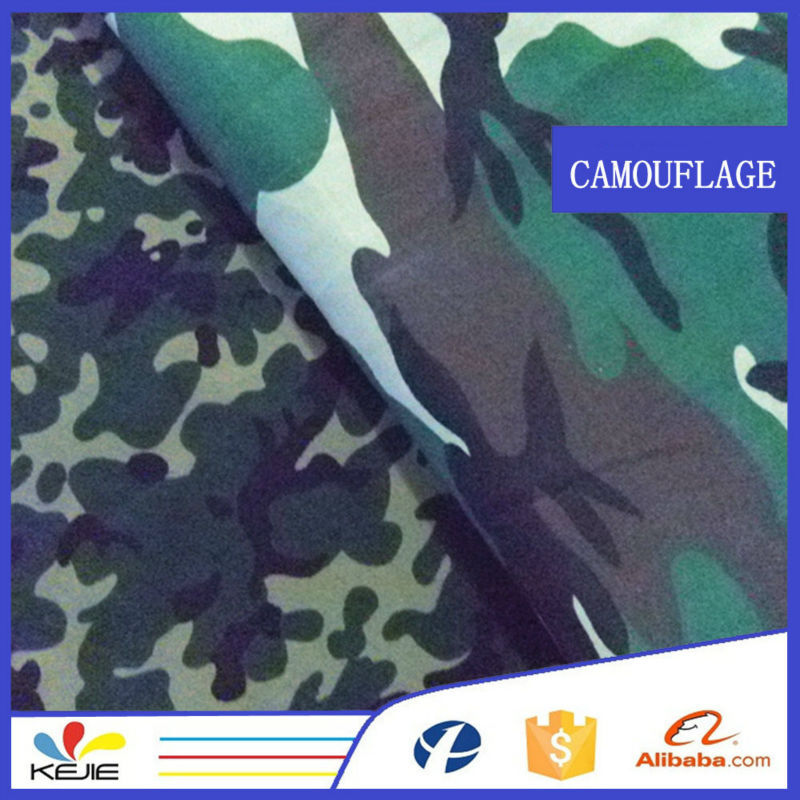 T/C 65/35 twill desert digital camo waterproof brushed fabric