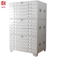 A1 Size Drawings Filing Metal Cupboard Steel Bulk File Cabinets/ Map Chest/ Drawing Cupboard