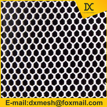DTY polyester hexagonal mesh fabric small hole fabric