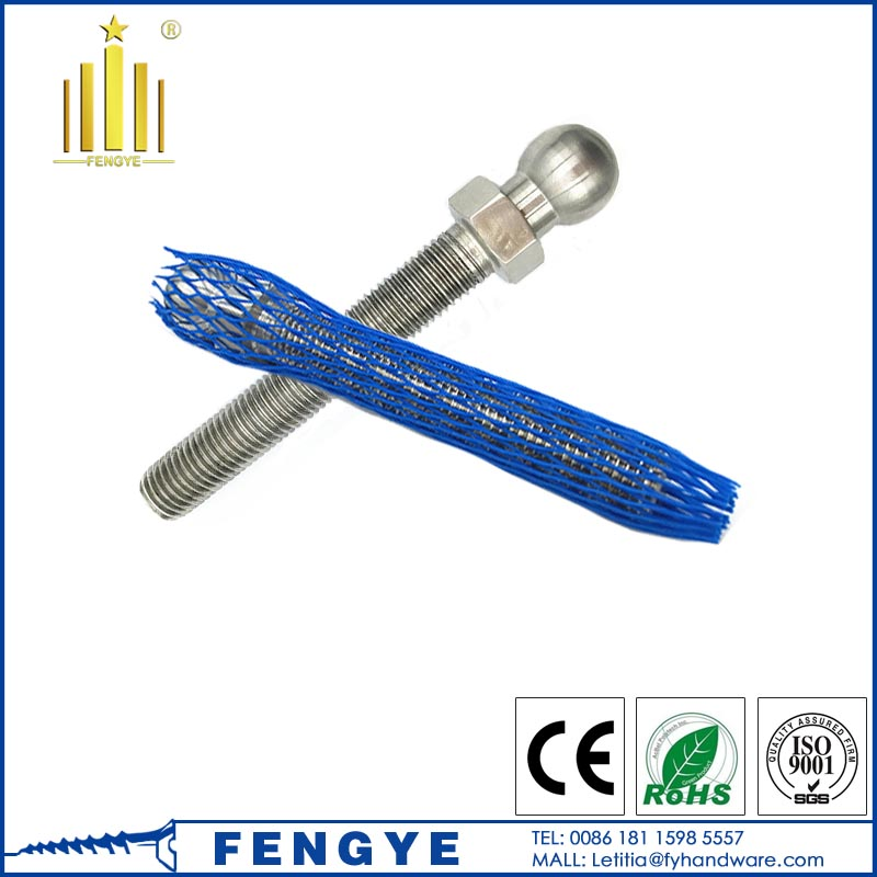 High Quality M8 Stainless Steel ball head Stud Bolt