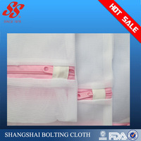 Hot sell printed laundry bags wholesale canvas polyester nylon washing mesh bags