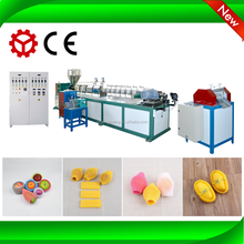 Plastic expanded EPE foaming fruit net making machine