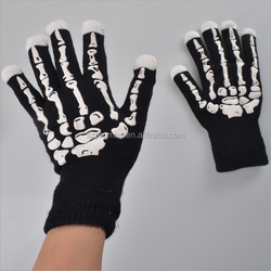2016 best selling led lighting party gloves/color changing light up gloves