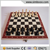 Wooden Play Chessboard Chess Game Set