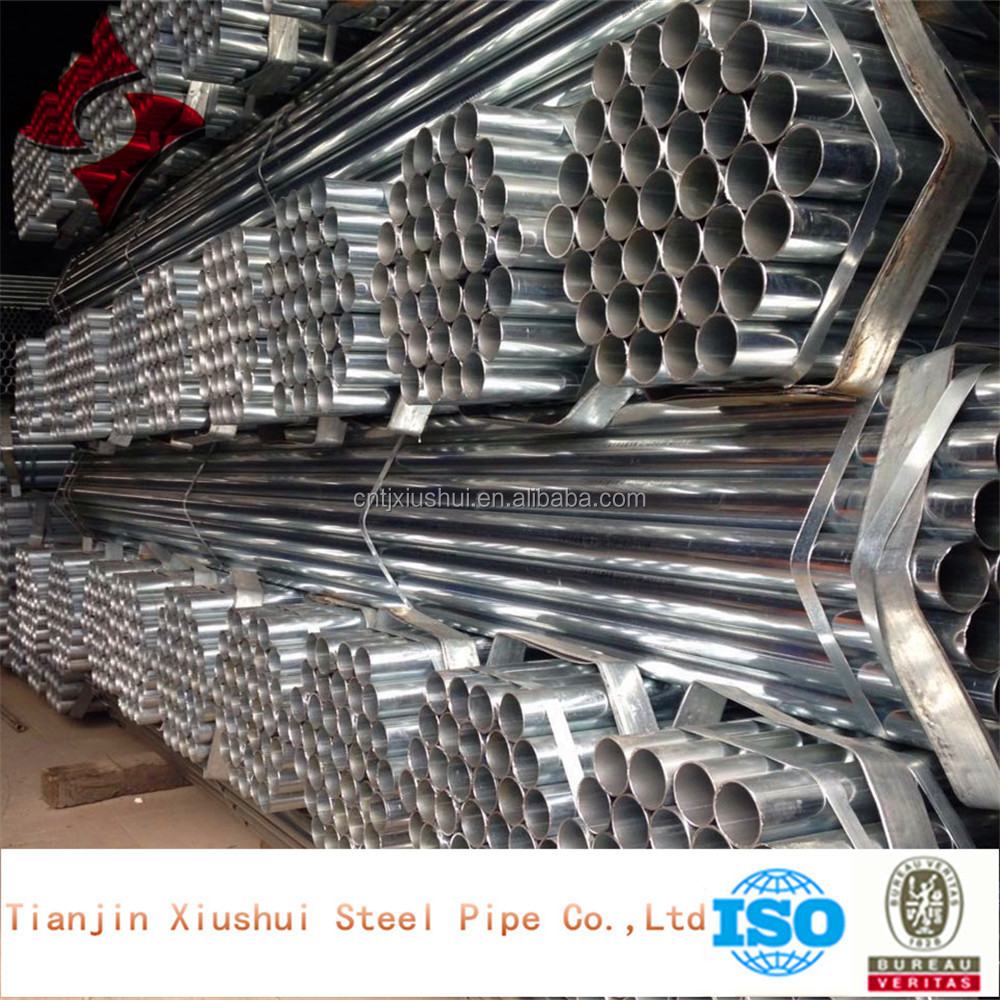 EN 10219,BS 1387,GB/T 3091 galvanized round steel pipe/tube