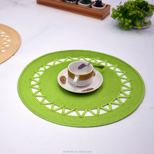 wholesale wooden vinyl round cheap slate blank placemat