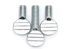 half threaded screw and fastener for electronic products,oval head thumb screw spade thumb screw