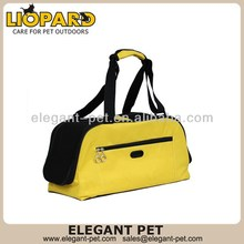 Fashionable low price pet leather carrier