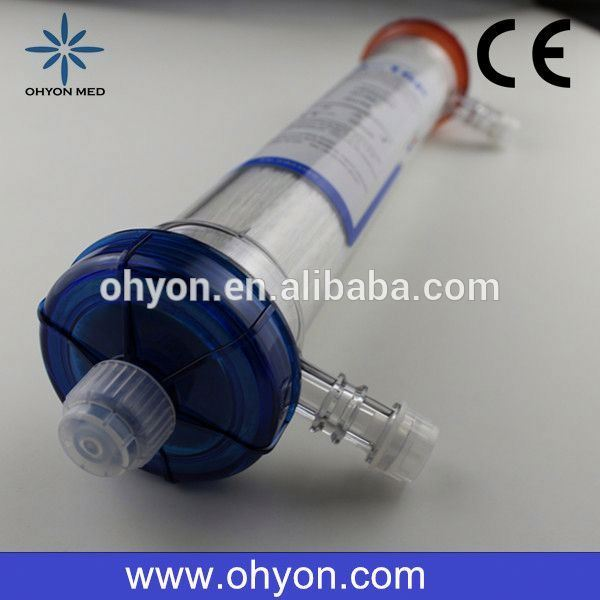 Disposable Medical hemodialysis dialyzer purema filter hollow fiber hemodialyzer for hemodialysiswith CE ISO9001