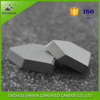 Exporter Supply high quality carbide type C1 YG6/YG8 from China Tungsten Carbide Brazed Tips