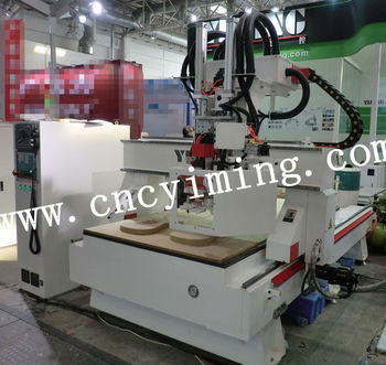 atc cnc router with 8 cutter