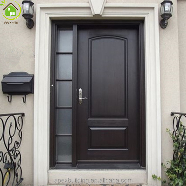 with sidelite exterior apartment front entry door