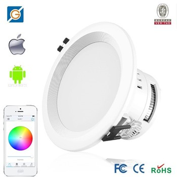 PWM Dimmable Color Change LED Downlight,wifi led downlights,WiFi Dimmable LED Downlight