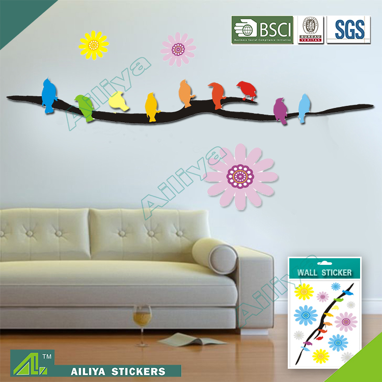 BSCI China Wholesale Custom Islamic Wall Stickers