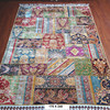 170x240cm hand knotted persian tribe silk rug handmade patchwork carpet