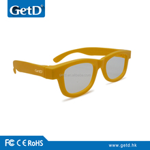 Passive 3d glasses for all circular polarized TVs---CP297G01GR