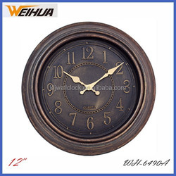 12 inch Antique cheap clock