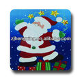 pp plastic christmas cup coasters for children