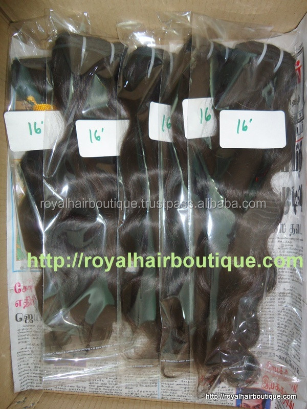 100% REAL ROYAL HAIR BOUTIQUE FROM INDIA, loose wave, body wave indian human hair extension