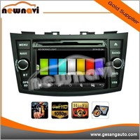 2015 Newnavi 1080P HD,5.1 channels car dvd player for SUZUKI SWIFT