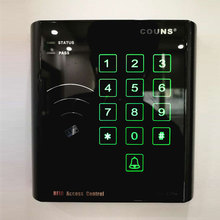COUNS CU-K25M Touch Screen wiegand 26 input access control Keypad RFID Standalone Reader with Magnetic Access Card