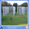 Chain Link Dog Kennel With Cover Outdoor Exercise / fancy dog kennels