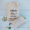 Online hot sell cotton gift cloth promotional canvas favor bags for wedding
