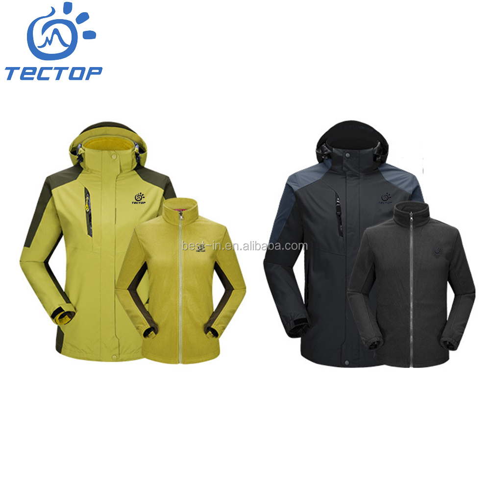Fashionable Outdoor Clothing Windproof Men's Winter Outdoor Jackets