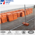 6' Height x 10' Length Chain Link Portable Panels Used in Temporary Fence