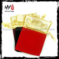 Fashion jewelery packaging bag, large velvet bags, new price jewellery packaging pouch