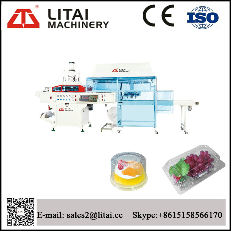 Full Automatic Water Cup Fruit Tray Container Thermoforming Machine