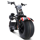 eDrift UH-ES295 Electric Fat Tire Scooter Moped with Shocks 1500w Hub Motor 24MPH Harley E-Bike